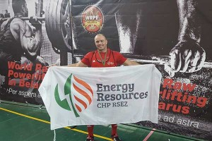 Rezekne powerlifting athlete wins a medal in Minsk